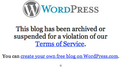 &lt;b&gt;No Motoons here&lt;/b&gt;: WordPress claim that satirical comics of Mo contravene their terms of service